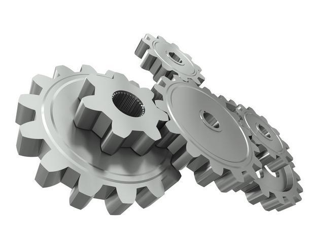 齿轮橡皮章素材